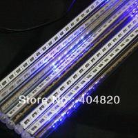 12LED x 8 Tubes (96 LED lights) blue Color LED Meteor Shower Rain Tube Lights Outdoor Tree Decoration 100V-240V