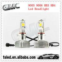 high power led car headlight 9005 9006 45W 2000lumen 100% waterproof