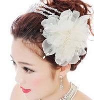 Free shipping!Flower Bridal Hairwear/Hairpins/wedding accessories/bridal hair ornament,SW157