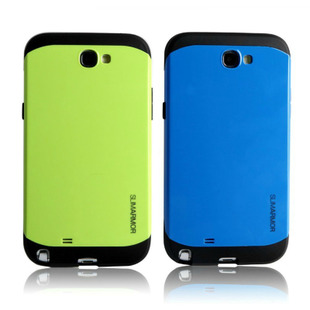 For samsung   s3 i9300 phone case cell phone case note2 n7100 protective case two-color armor