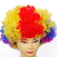 Masquerade party supplies party supplies wig clown - - - - multicolour afro