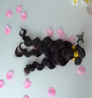 Brazilian virgin hair water wave 2 bundles Rosa hair products,Grade 5A loose wave style,100% unprocessed hair free shipping