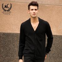 Men's Sweater      V-neck cardigan   Top