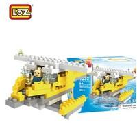 Loz car child  9231 3d p building blocks toy diamond gruond