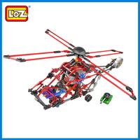 Loz puzzle 3d diy electric fighter heavy duty