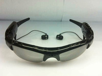 FREESHIPPING-Mini DV DVR sunglasses with camera mp3 player Camera Audio Video Recorder 1Pcs/Lot