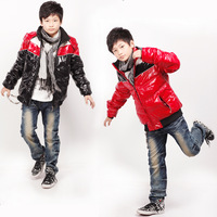 Free shipping 2013 winter male child down coat child children's clothing sports child coat jacket outerwear coat