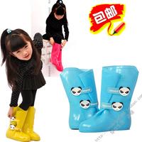 2013 bearcat child male child girls shoes rain boots rainboots fashion rain shoe covers