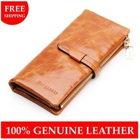 Free shipping Fashion lady wallet genuine leather purse, WOMEN'S New Style multifunctional Wallets high quality card holder