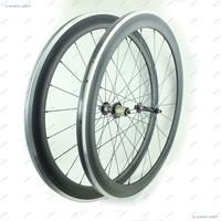 Carbon Wheelset 50mm 1557g 700c Road Bike Wheels With Alloy Braking Surface UD Matt Novatec Hubs 291-SL/482-SL CN Aero Spokes