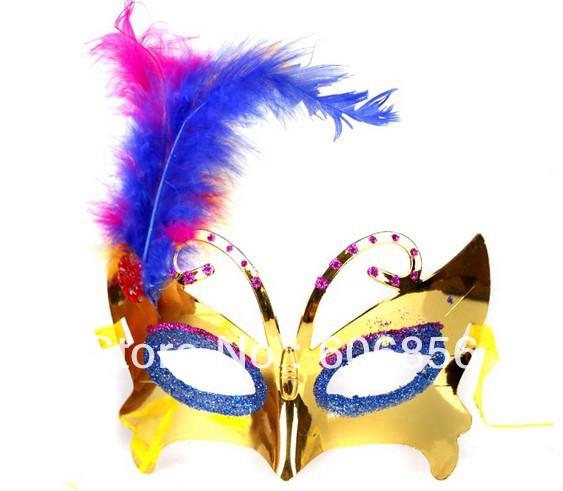 2014 baru sederhana Childrens Halloween pesta topeng topeng, Anak anak ...