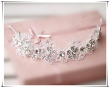 Style bride hair accessory marriage wedding rhinestone hair accessory 7871