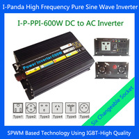 600W DC to AC power inverter, 600W off-grid pure sine wave solar power inverter for  solar system Peak 1200W single phase