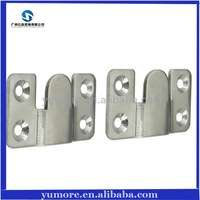 DHL Free Shipping Stainless Steel Decorative Picture Hanging Wall Hooks Mini Size 100 Pieces/lot