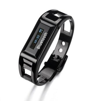 Bluetooth bracelet watch vibrate anti-theft smart watch time caller id