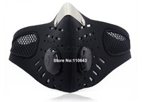 Motorcycle Bicycle Bike Anti-pollution Ski Face Mask Outdoor Sports Mouth-muffle Dustproof Filter Winter Veil TK0964