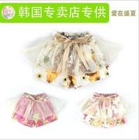 Children's clothing female child legging shorts summer thin shorts culottes