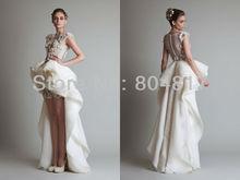 wholesale short front wedding dress