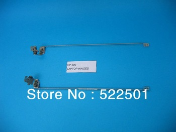 Tested brand new For HP 500 510 520 530 P/N AM010000200 AM010000100 notebook laptop screen LCD Hinge L+ R one pair free shipping