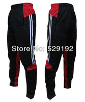 Black / red color sweatpants professional soccer training soccer casual pants fashion men's sports pants