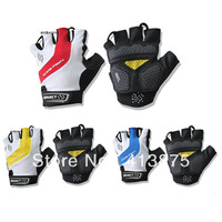 Newest Bike Bicycle Racing Gloves Spakct Half Finger Cycling Gloves tenacious leather microfiber Gloves sports equipment