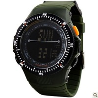 50M Waterproof Army Watch,Sports Watch,Men Brand Multifunction Watch,Digital Climbing Dive Watch,Shock Resistant Wristwatch