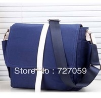 Free Shipping Korean Men And Women Canvas Bag, Travel And Leisure Student Shoulder Bag, Canvas Messenger Bag