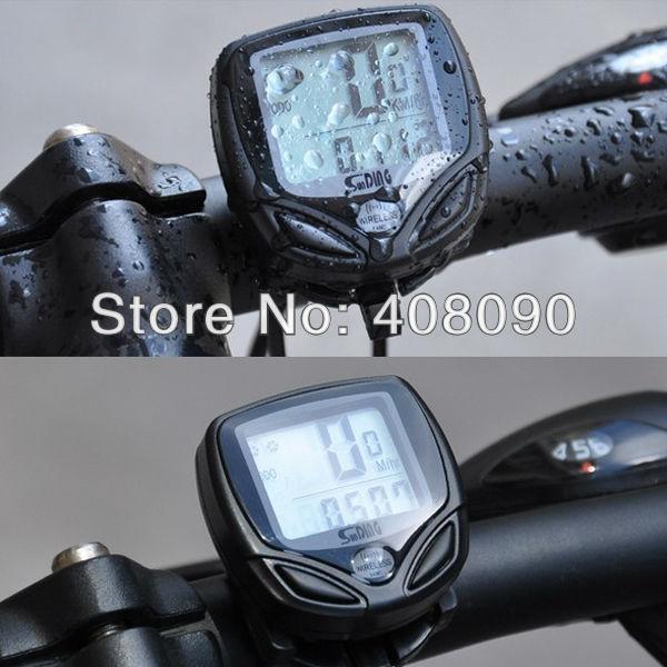 Bike Bicycle Cycling Wireless LCD Computer Odometer Speedometer Waterproof LB0240(China (Mainland))
