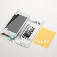 Clear Screen Protector - LCD protective Film Plastic Cover For iPhone 5 5G FREE SHIPPING 3222