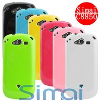 Simai  for HUAWEI  c8850 u8850 mobile phone case silica gel set protective case glitter set