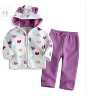 Children suit boys and girls suit / baby clothes / Kids winter coat hoodies + pant