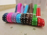 2 rolls stitch grosgrain ribbon, 8 colors to choose, 1 roll is 50 yards, 2 roll is 100 yards,crafts webbing