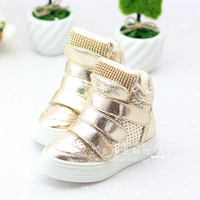 2013 autumn and winter child girls shoes rhinestone thickening medium cut sneaker boots parent-child shoes