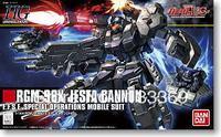 Free shipping 1/144 HG gundam Bandai model  HG UC 152 Jesta Cannon Gundam