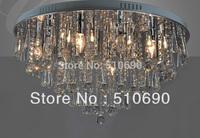 Chandelier/HI- QUALITY FREE SHIPPING + LED BULB/ FLOWERS DESIGN K9 CRYSTAL CHANDELIER/PEDANT LIGHTS/CEILING LAMP/CHEAP/SALE