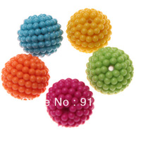 Free Shipping 25mm Acrylic Berry Beads Assorted 50pcs/Lot Chunky Gumball Bubblegum Necklace Beads