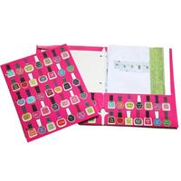 2pcs Supplies color printing paper file folder paper bags paper bags single folder a3 a4