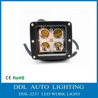 2013 New 16W Cree LED work light with cover Truck Trailer SUV Off road Boat ATV tractor working lamp 2pcs/lot Free shipping