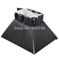 Pixco Universal Flash box Pop-up Flash Diffuser Soft Box For Yongnuo/JYC/Can/Nik Camera Flash Free Shipping
