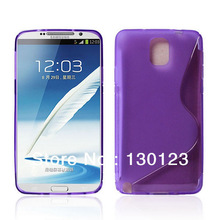 TPU Soft Case S Line Back Cover For Samsung Galaxy Note 3 Note iii N9000 Mobile