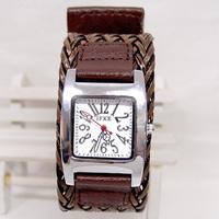 Wholesale women wristwatches ladies fashion Braided leather strap quartz watch Women dress watches FS118