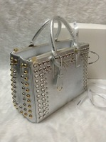 2013 Luxury Women Fashion Tote Bag Covered with Diamonds Ems free shipping