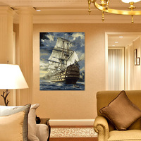 Frameless paint by number kits Diy digital oil painting decoration 50 65cm  wall picture unique gift home decor