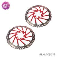 "1Pair  Newest AVID G3CS red bicycle brake disc Rotors MTB bike brake disc Rotors 160mm 6""  free shipping"