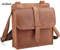 free shipping by EMS!!2013 fashion high quality genuine leather handbag men's bags messenger bag man totes shoulder bags 1044
