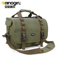 Cross-body bags one shoulder camera bag slr shoulder bag waterproof canvas camera bag a1134