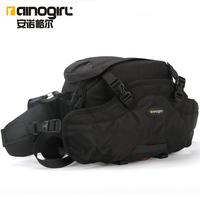 SRL camera bag Photography waist pack outdorr camera should bag rain cover waterproof