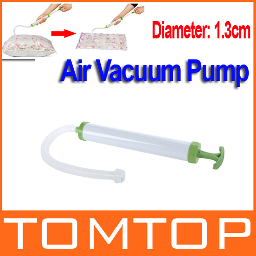 Air Vacuum Pump for Space Saver Saving Storage Bag Vacuum Seal Compressed Organizer Freeshipping wholesale(China (Mainland))