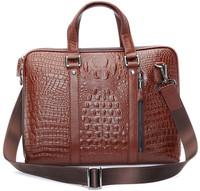 free shipping by EMS!!2013 fashion genuine leather handbag men's bags messenger bag Laptop Briefcase bags shoulder bags 1050