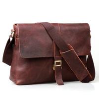 free shipping by EMS!!2013 fashion genuine leather handbag men's bags messenger bag Laptop Briefcase bags shoulder bags 1071